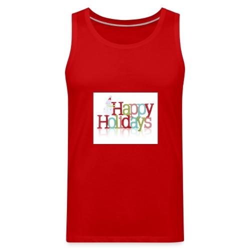 Happy Holidays - Men's Premium Tank