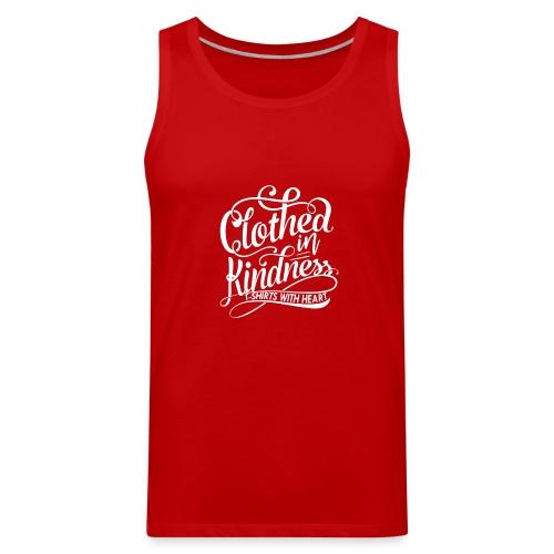 Clothed in Kindess logo shirt - Men's Premium Tank