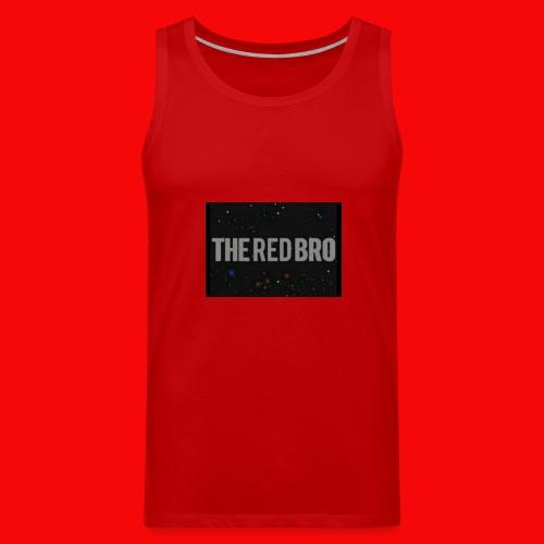 The Red Bro Merchandise - Men's Premium Tank