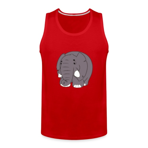 Sammy the Elephant - Men's Premium Tank