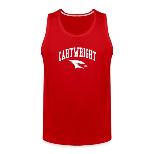 Cartwright College Logo - Men's Premium Tank