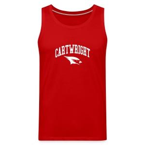 Cartwright College Logo - Men's Premium Tank