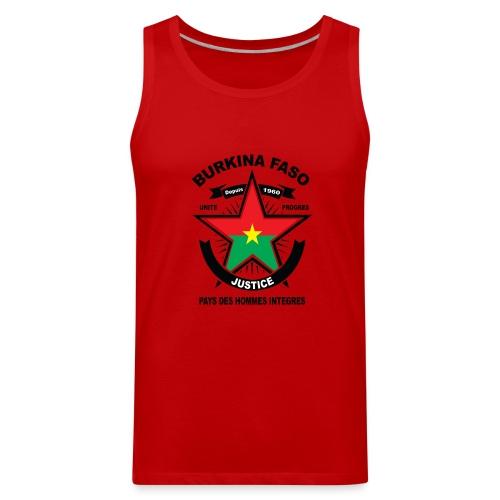 BURKINA_FASO - Men's Premium Tank