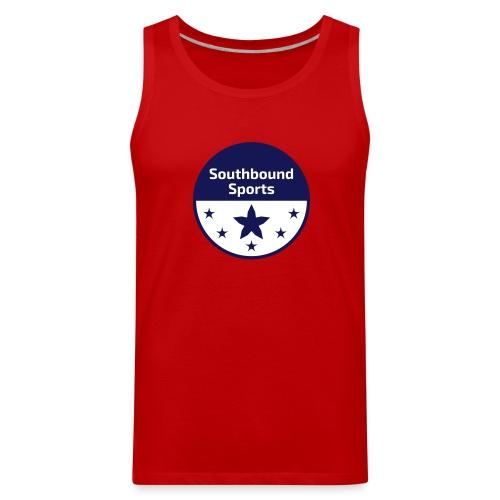 Southbound Sports Round Logo - Men's Premium Tank