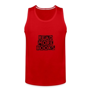 Read More Books - Men's Premium Tank