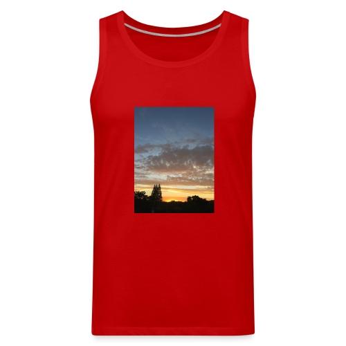 nuclear sunset - Men's Premium Tank