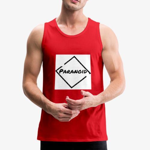 paranoid - Men's Premium Tank