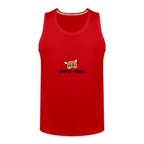 Shifty: Red Panda Tee Male - Men's Premium Tank