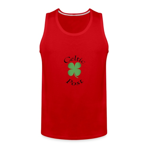 Celtic Post Shamrock - Men's Premium Tank