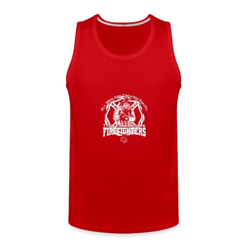 Firefighter t shirts - Men's Premium Tank