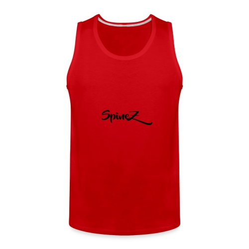 SpineZ_Black - Men's Premium Tank