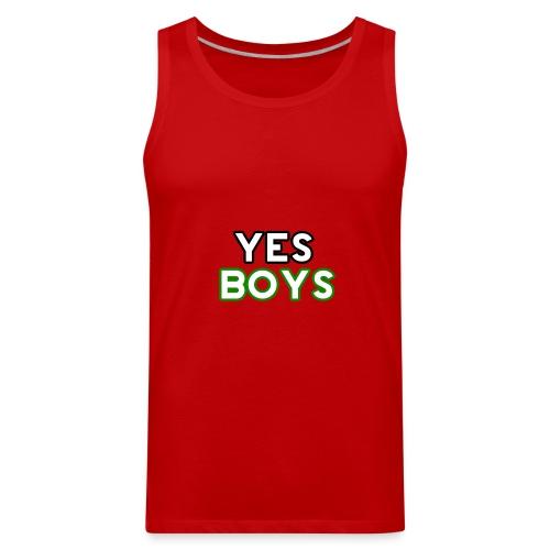 MERCHANDISE Yes Boys Campaign - Men's Premium Tank