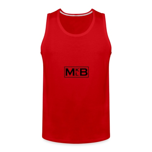 mklb logo -2 - Men's Premium Tank
