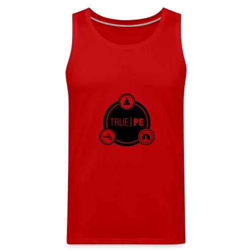 true PE logo - Men's Premium Tank