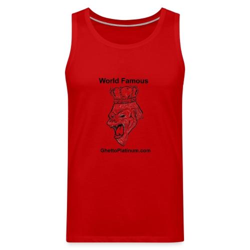 T-shirt-worldfamousForilla2tight - Men's Premium Tank