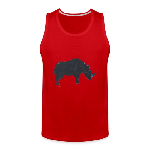 Rhino print - Men's Premium Tank