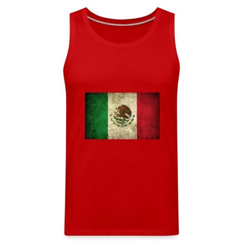 Mexico flag t-shirts etc - Men's Premium Tank