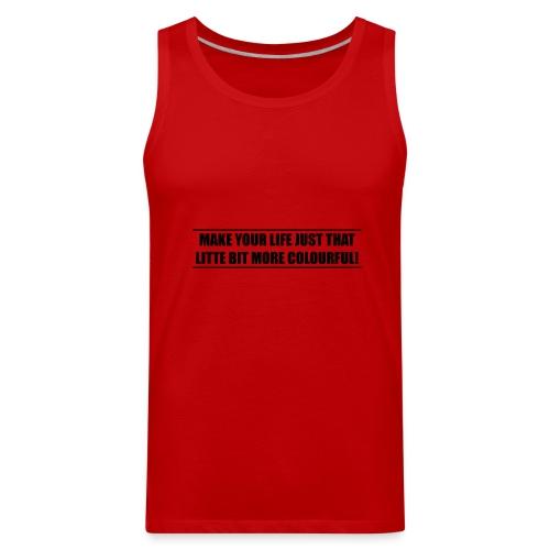 slogan - Men's Premium Tank