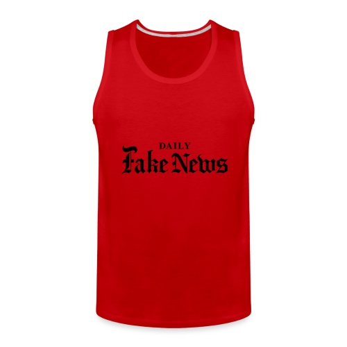DAILY Fake News - Men's Premium Tank