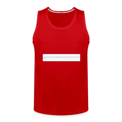 Blocked by Donald Trump on Twitter - Men's Premium Tank