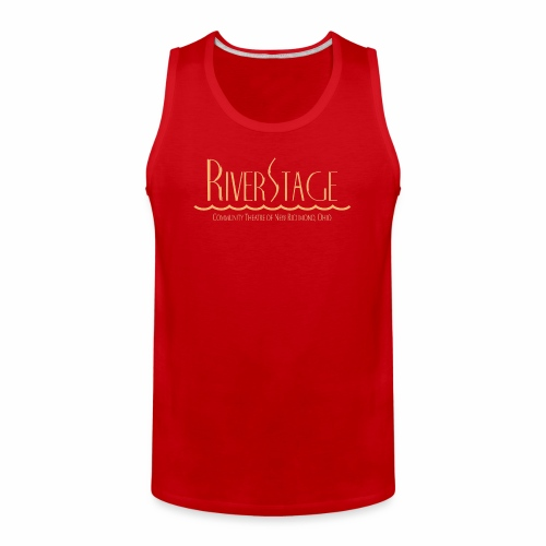 RiverStage Color Logo in Beachy Peach - Men's Premium Tank