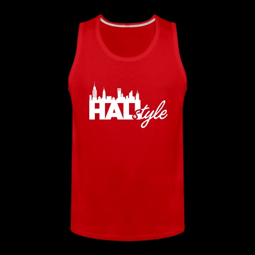 HALIStyle City Skyline - Men's Premium Tank
