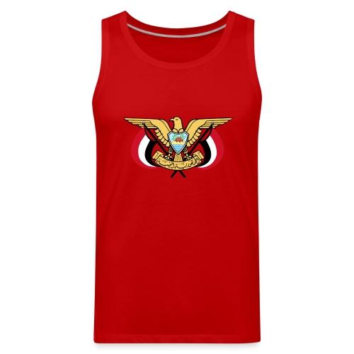 Emblem of Yemen svg - Men's Premium Tank