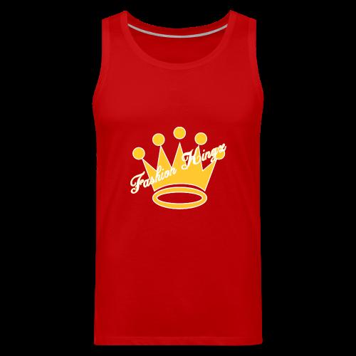 Fashion Kingz Clothing Official Crown Logo - Men's Premium Tank