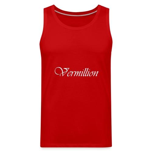 Vermillion T - Men's Premium Tank