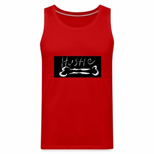 Hustle Bone Logo - Men's Premium Tank