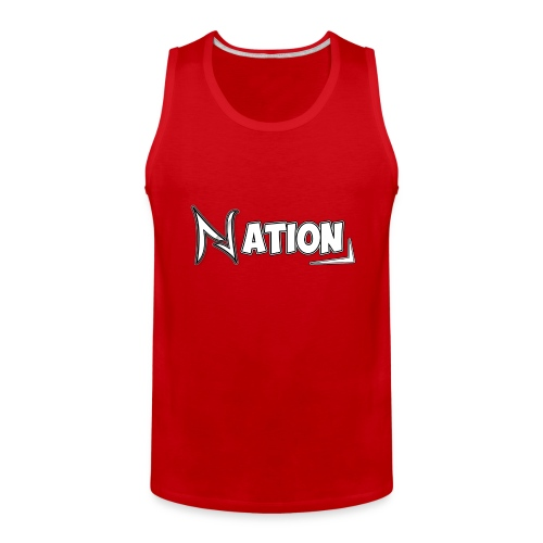 Nation Logo Design - Men's Premium Tank