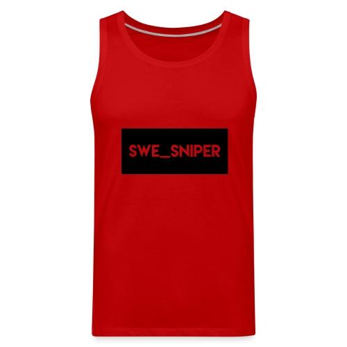 Swe_Sniper Logo - Men's Premium Tank