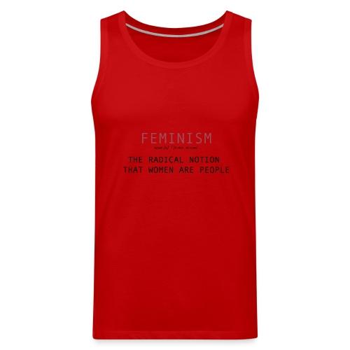 feminism - Men's Premium Tank