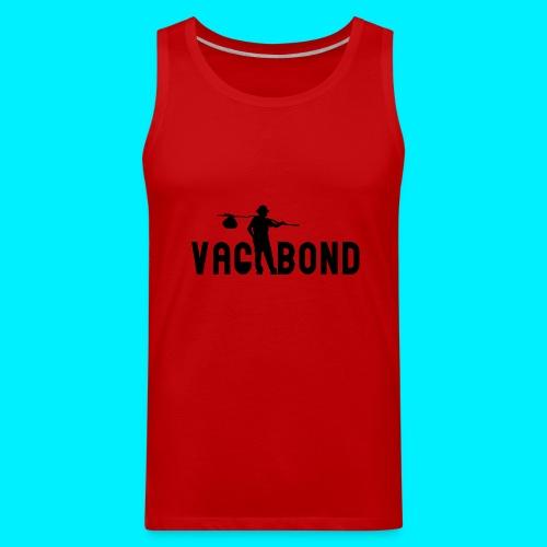 Vagabond Logo Wide - Men's Premium Tank