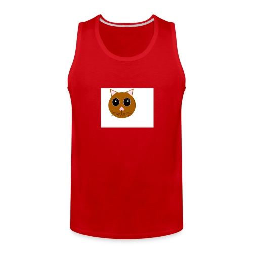 cute_cat - Men's Premium Tank