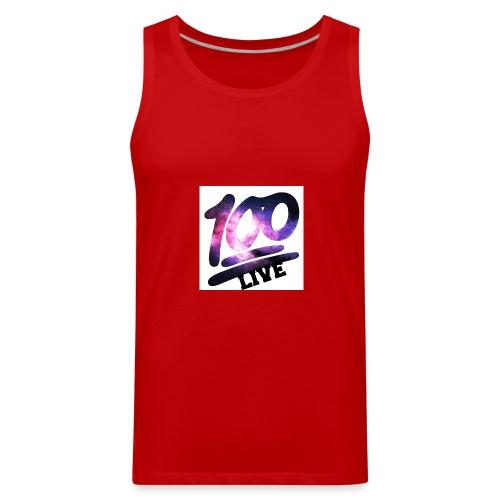 living 100 - Men's Premium Tank