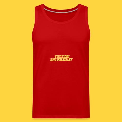 yellow enthusiast - Men's Premium Tank