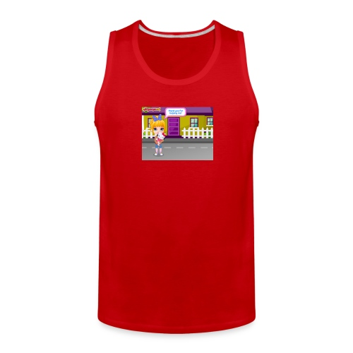 Baby Barbie Throat Doctor T-shirt/Tanktop - Men's Premium Tank