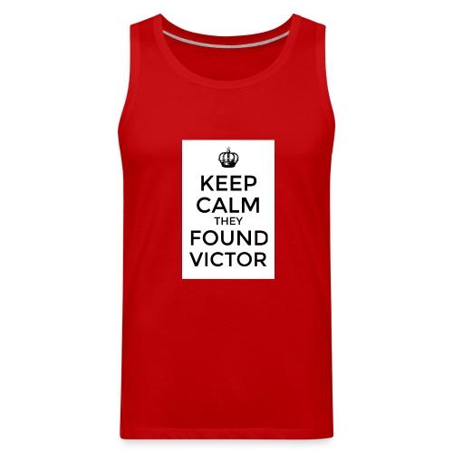 Found Victor - T-Shirt - Men's Premium Tank