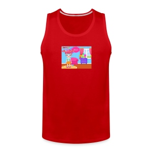 Baby Barbie Skateboard Accident T-shirt/Tanktop - Men's Premium Tank