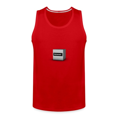 Box Logo - Men's Premium Tank