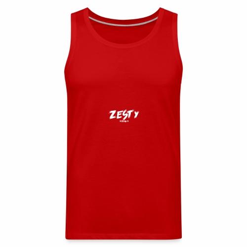 Team Zesty Black Clothing - Men's Premium Tank