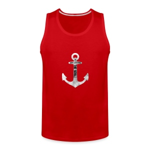 Anchor Hebrew 6:19 - Men's Premium Tank
