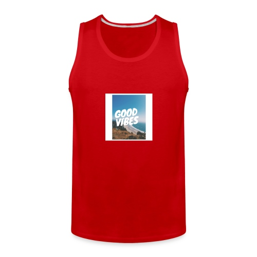 Good Vibes - Men's Premium Tank