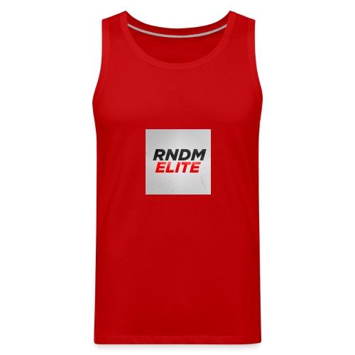 RNDM ELITE logo - Men's Premium Tank