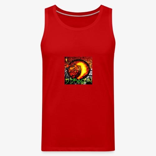 Damian Dragon Logo - Men's Premium Tank