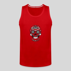 Catrina Black & White - Men's Premium Tank