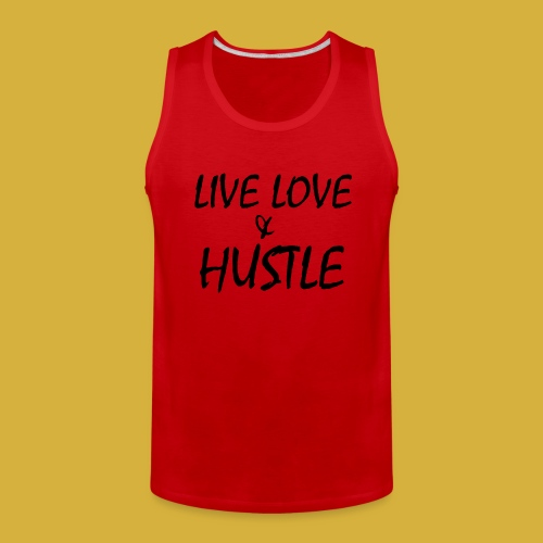 LLH black 01 - Men's Premium Tank