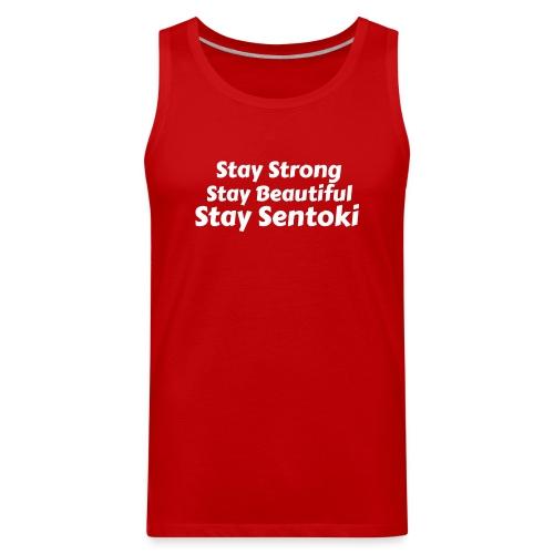 Sentoki's slogan - Men's Premium Tank