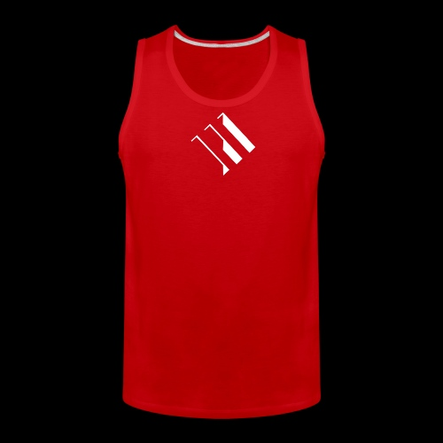 White Logo - Men's Premium Tank
